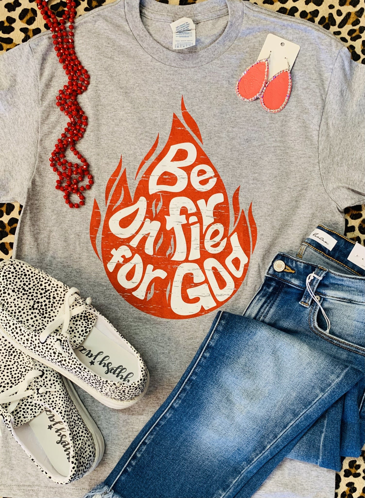 Be On Fire For God