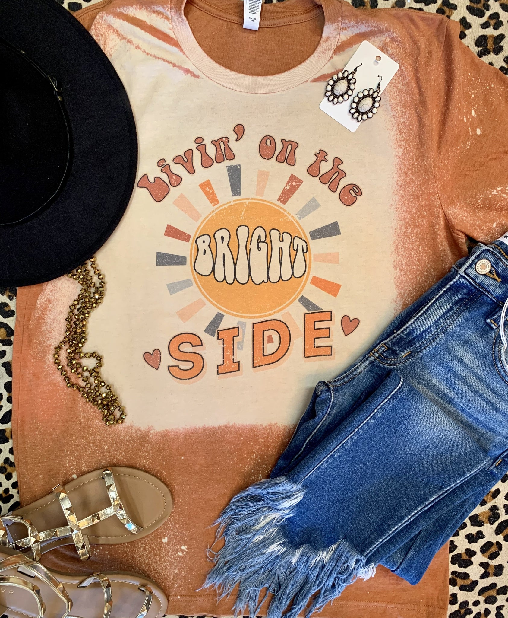Livin On The Bright Side Tee