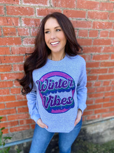 Winter Vibes Sweatshirts