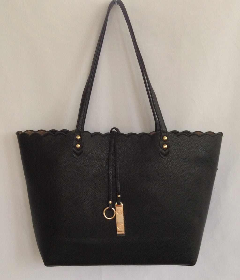 Zipper Top Tote