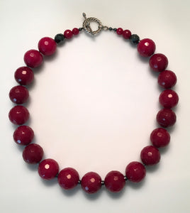 Ruby Jade Necklace