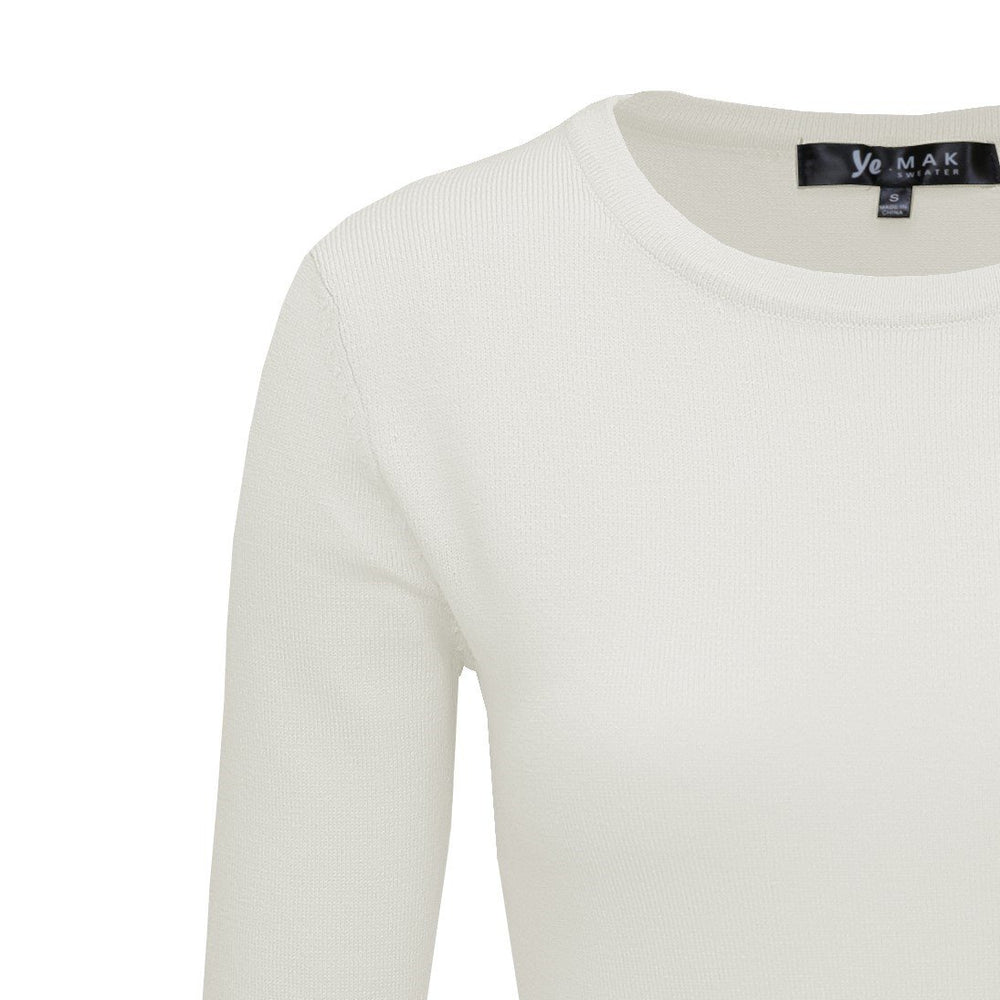Ivory Weighted Pullover Sweaters