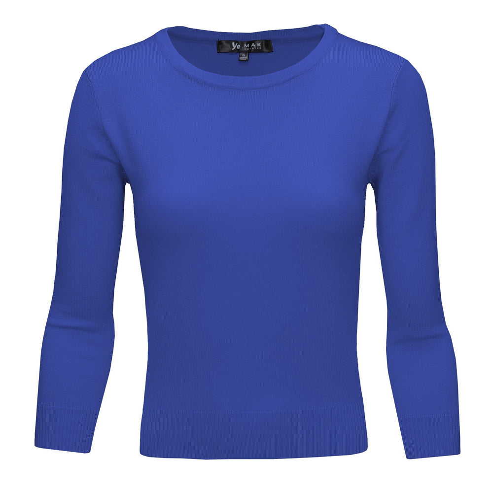 Viola Slim Fit Pullover Sweaters