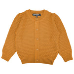 YEMAK Girl's Cute Pattern Cropped Daily Cardigan Sweater Vintage Inspired Pinup MK3514KID