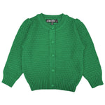 YEMAK Girl's Cute Pattern Cropped Daily Cardigan Sweater Vintage Inspired Pinup MK3514KID (2/4, 6/8, 10/12)