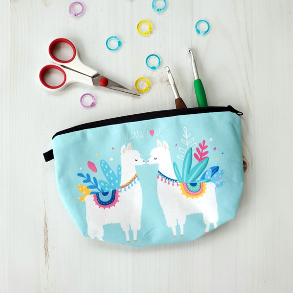 Lovely Llama Notions Pouch