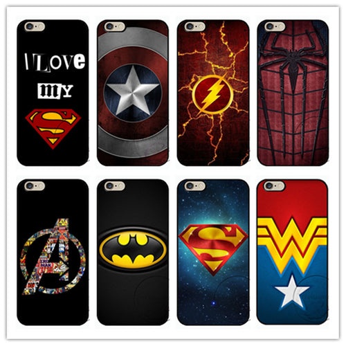 Superhero Hard plastic phone cover - Trigger Happy Gaming