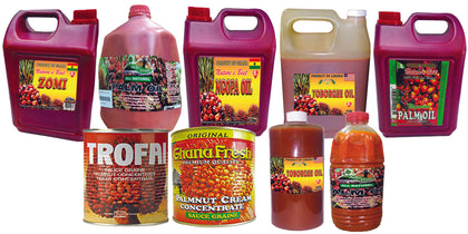 AFRICAN 100% pure and natural organic palm oil products