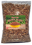 African Brown Beans  10 Lbs.