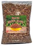 African Brown Beans  20 Lbs.