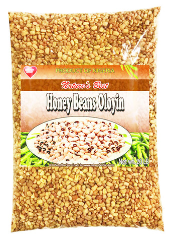 Honey Beans (Ewa Oloyin) Bag  20.0 lbs.
