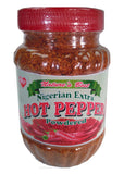 Nigerian Extra Hot Pepper 8 oz