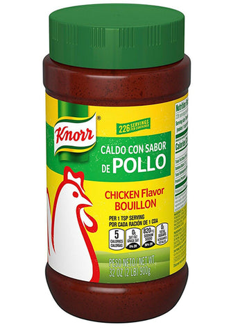 Knorr Chicken Flavor Bouillon 32 oz (2 lb)