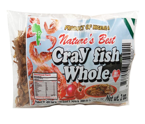 Crayfish Whole 2oz