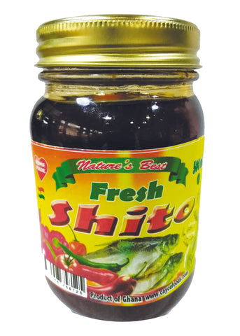 Fresh Shito Pepper Sauce 16.90 oz (500 ml)