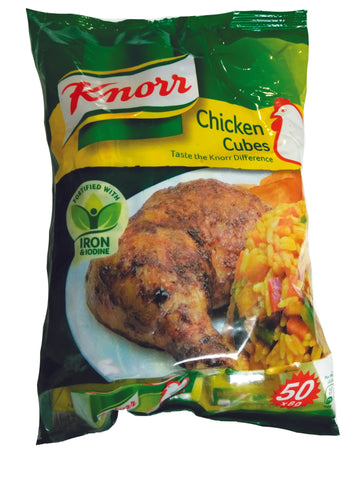 Knorr all natural chicken cubes 400 g 50 Cubes
