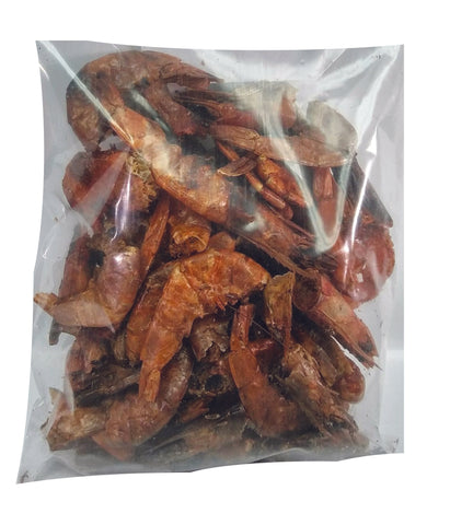 Large Smoked Shrimp (Cray Fish) 1/2 A Pound Bag - 8 oz (0.5 LB)