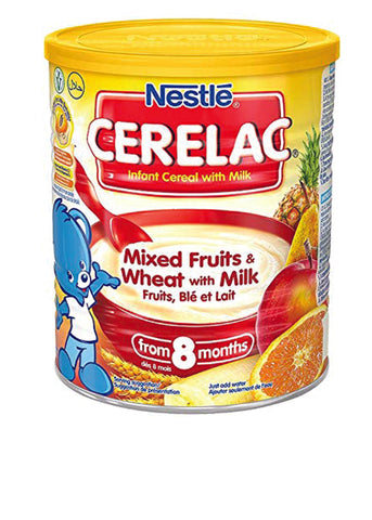 Nestle Cerelac Infant Cereals Mixed Fruits & Wheat With Milk 1kg (2.2lb)