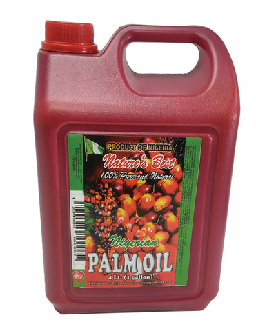 Nigerian Palm Oil 4 Liter - 8.8 lb