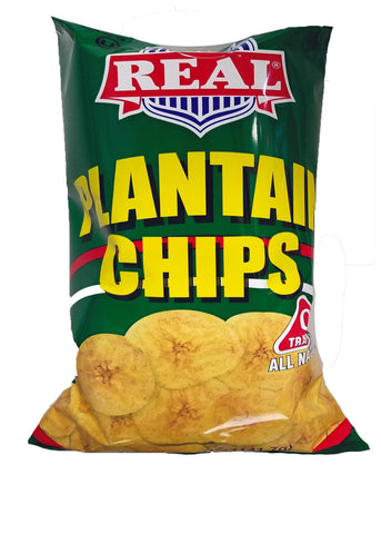 ARA REAL Plantain Chips Snacks - 5 oz (141.7g)