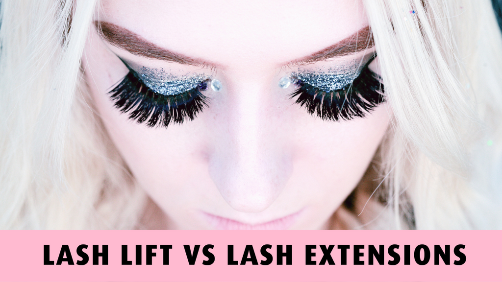 Lash Extensions VS Lash Lift