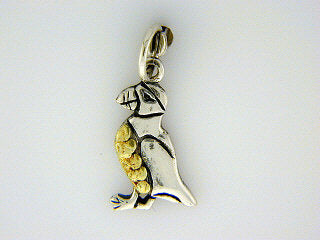 C057  Puffin Charm with Nuggets