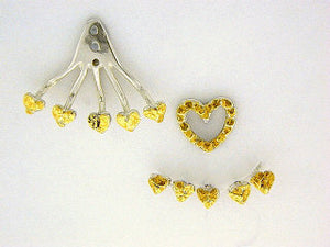 EJ102  Heart Ear Jacket