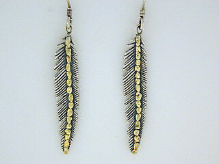 EW025  Feather Earring Wires