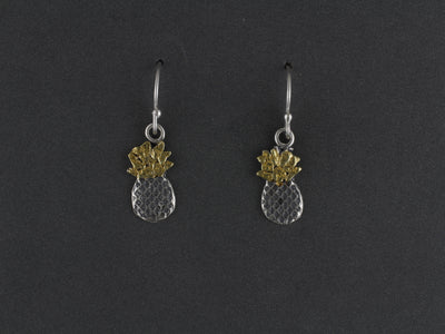EW183  Small Pineapple Earring Wires