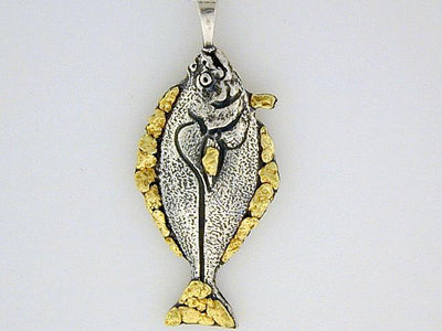 N033  Halibut-All pendant