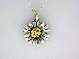 N057  Flower with Medium pendant