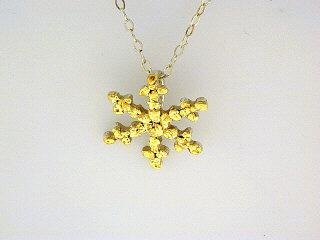 N083  Snowflake with Large pendant