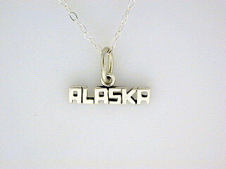 N090  Alaska Necklace Silver
