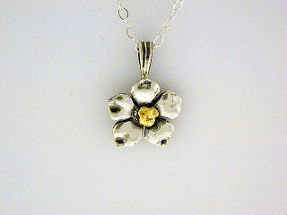 N099  Forget Me Not Necklace