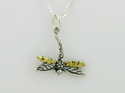 N100  Dragonfly Necklace