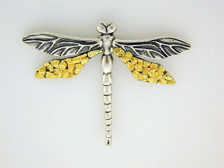 P012  Dragonfly Large Brooch