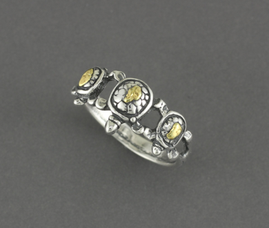 R177  Turtle Ring