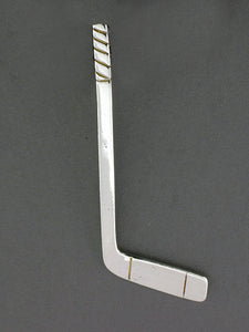 TT550  Stick Large Plain Silver