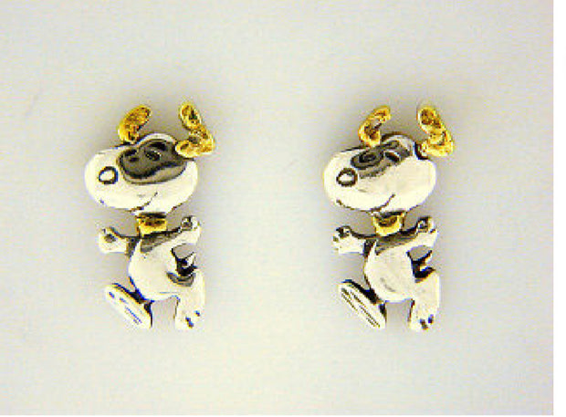 EP808  Snoopy Dancing Earring Posts