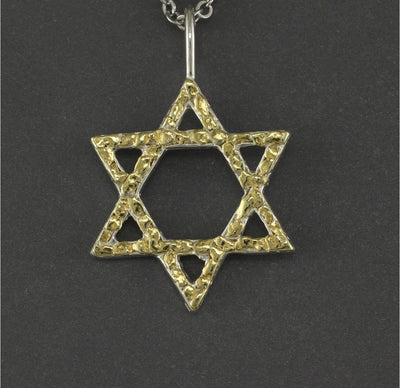 N188  Star of David Necklace
