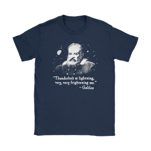 Thunderbolt Lightning very very Frightening Me Galileo T-shirt