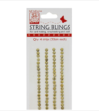String Blings Small Gold