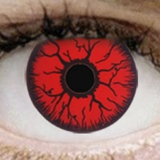 Lens - Red Rage Mini Sclera - ONE DAY