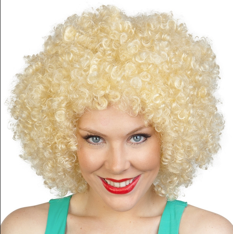 Disco Afro Blonde