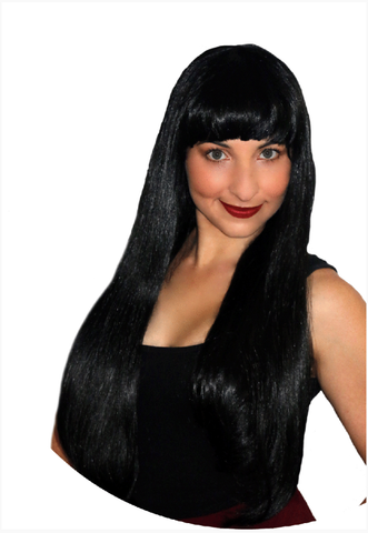 Deluxe Long Black with Fringe