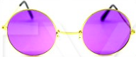 Hippie Glasses - Purple