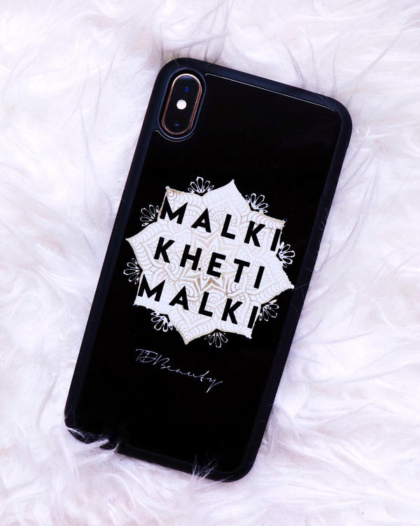 "Coque de telephone ""Malki kheti"" iPhone"