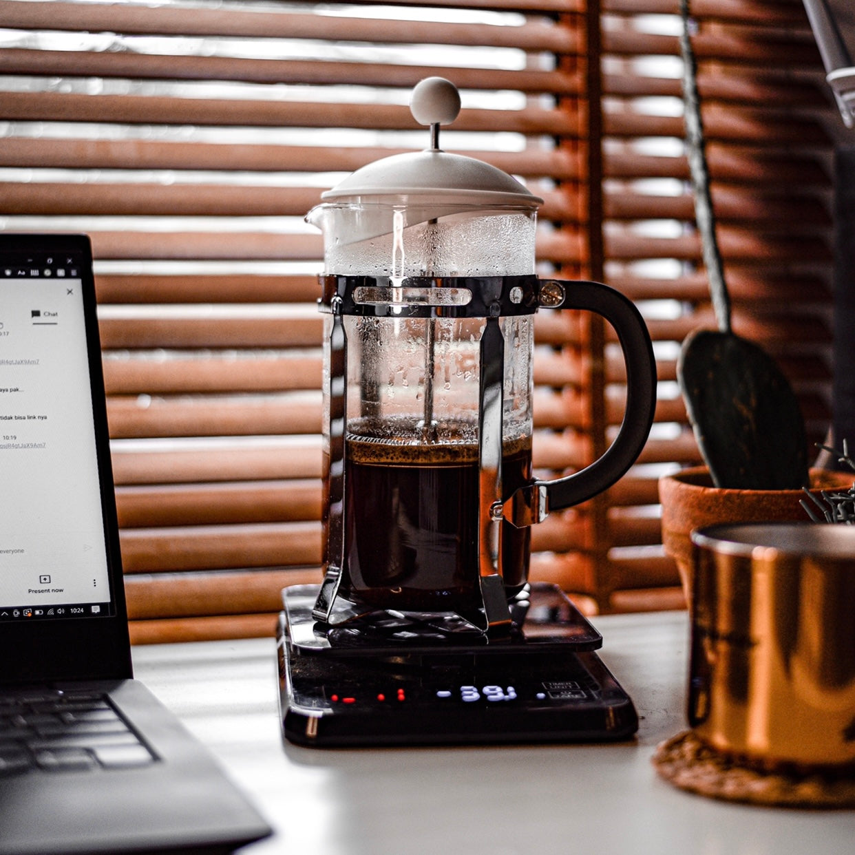 f-stop coffee brew guide french press