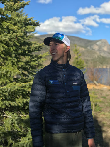Trail Hiking Down Snap-T Pullover