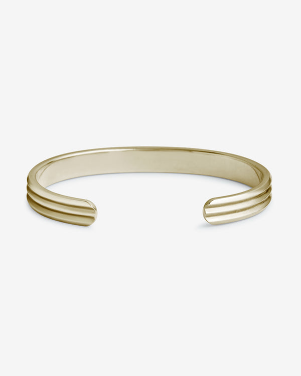 Gold Kyoto Cuff - Westhill Jewellery